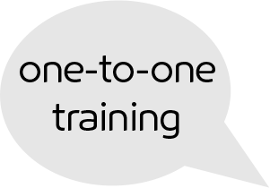 see one-to-one training